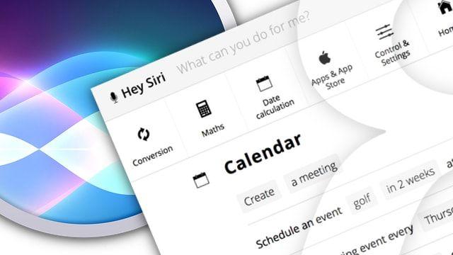 список голосовых команд Siri для iPhone и Mac