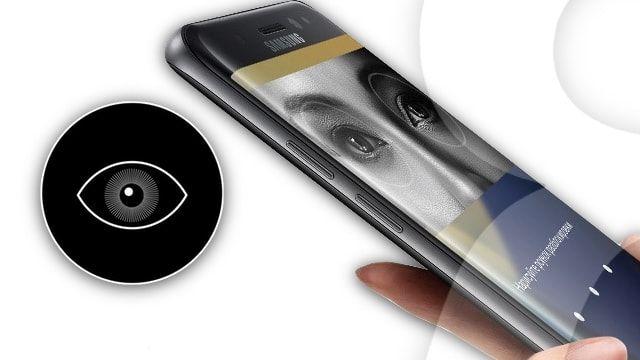 Сканер радужной оболочки глаза в Samsung Galaxy Note7