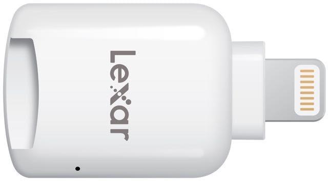 Lexar microSD - адаптер, позволяющий подключать к iPhone и iPad карты памяти