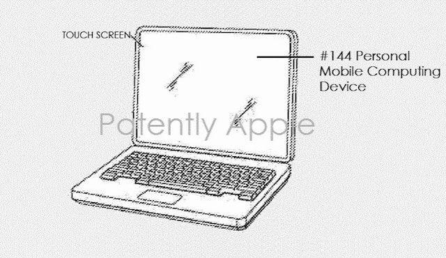 MacBook с сенсорным дисплеем