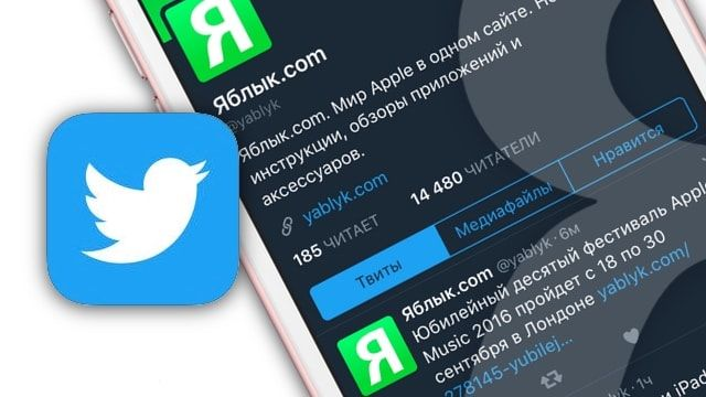 «Ночной режим» в приложении Twitter для iPhone и iPad