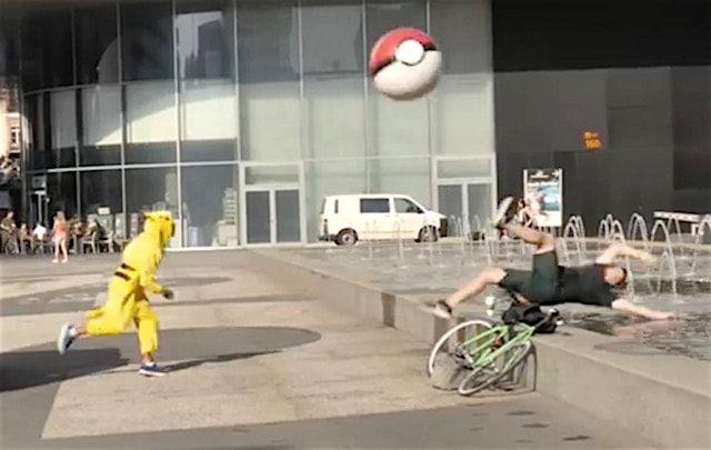 Как пранкеры, переодетые в покемонов, избивали игроков в Pokemon GO (видео)
