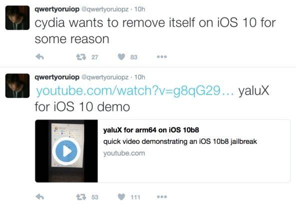 Лука Тодеско про Джейлбрейк iOS 10