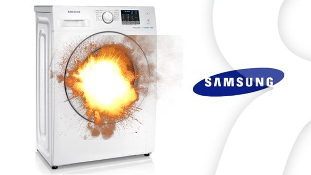 Взрываются стиральные машины Samsung