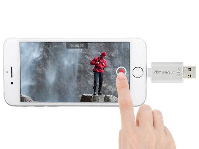 Transcend JDG300 - сохранение видео и фото