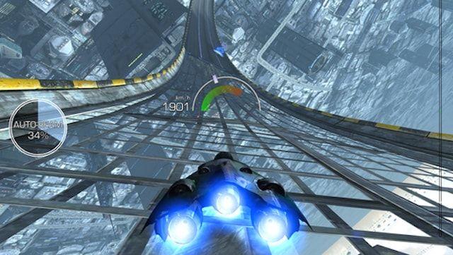 Игра AG Drive – футуристические гонки для iPhone и iPad