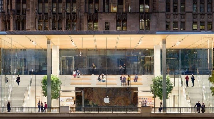 Адреса магазинов Apple Store