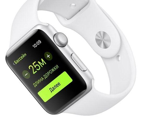 Водонепроницаемость Apple Watch 2