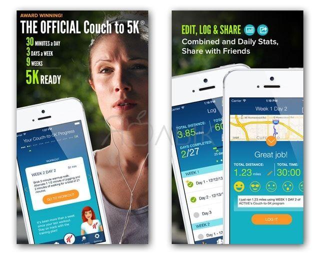 Лучшие iOS-приложения для занятий спортом