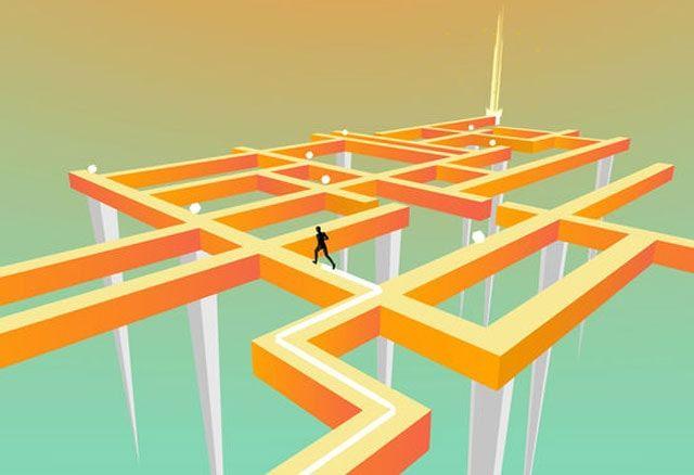 Crooked Path - сложнейший раннер с элементами головоломки для iPhone и iPad