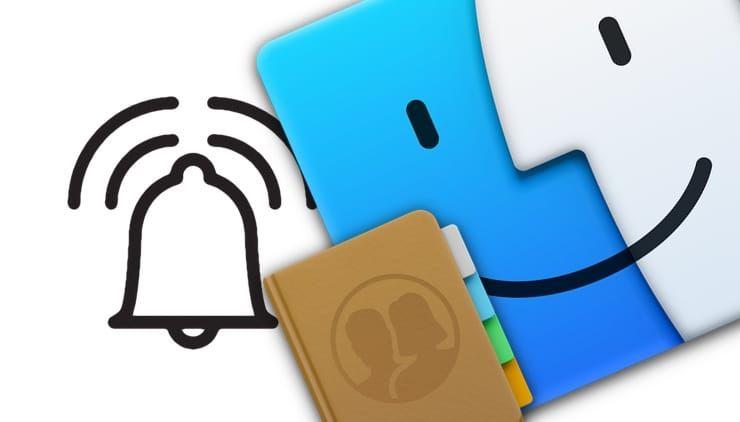 Как на Mac выбирать рингтоны (мелодию звонка) для выборочных контактов с iPhone