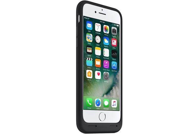 Емкость батареи Smart Battery Case для iPhone 7 на 26% больше по сравнению с чехлом для iPhone 6s