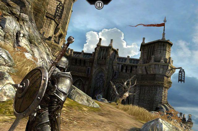 Infinity Blade – культовая экшн-игра для iOS-устройств
