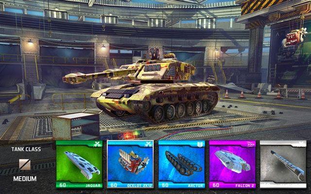 Infinite Tanks - военный шутер от создателелей Sky Gamblers для iOS, Mac и Apple TV