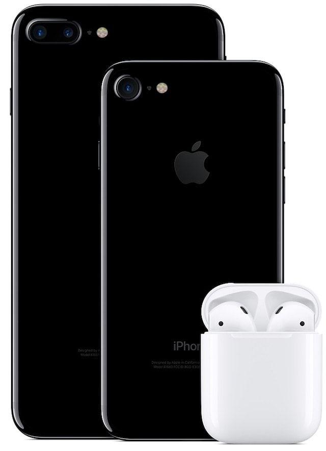 iphone 7 и airpods