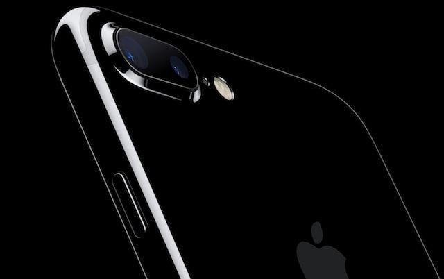 iPhone 7 в цвете «черный оникс»