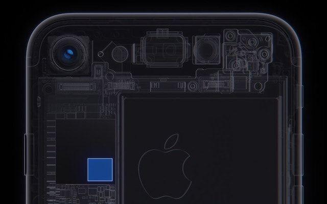 ISP чип для камеры в iPhone 7