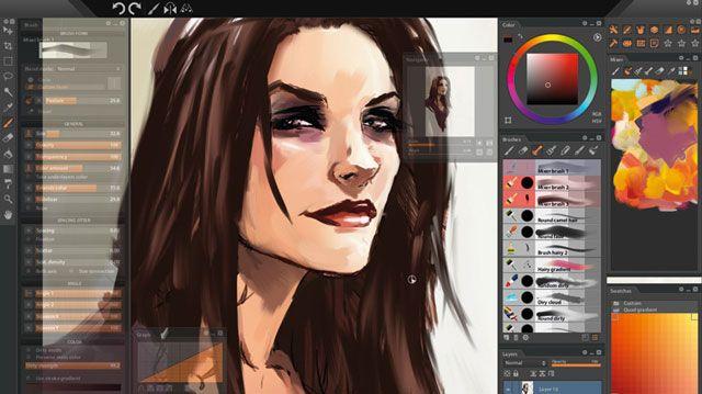 Paintstorm - лучший графический редактор для iPad
