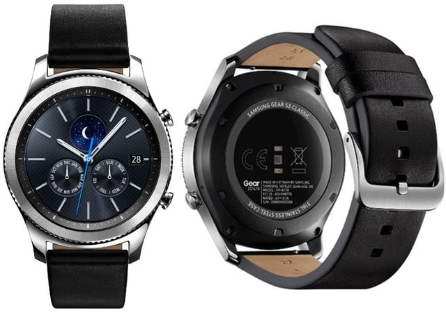 Samsung Gear S3 Classic and Frontier