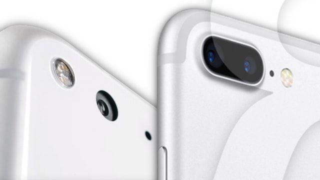 Сравнение качества съемки на Google Pixel XL и iPhone 7 Plus