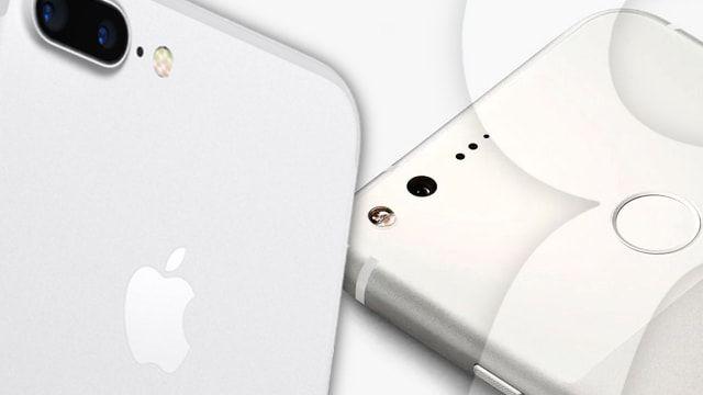 iPhone 7 против Google Pixel