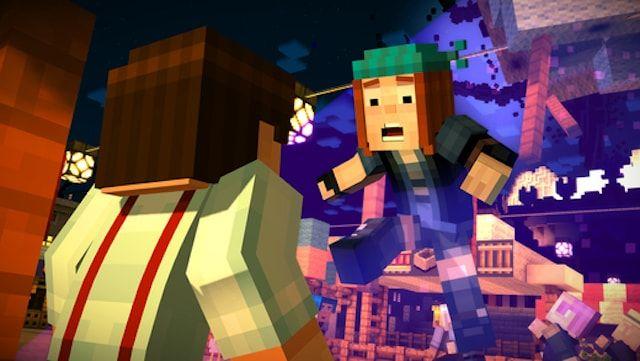 Игра Minecraft: Story Mode для iPhone и iPad