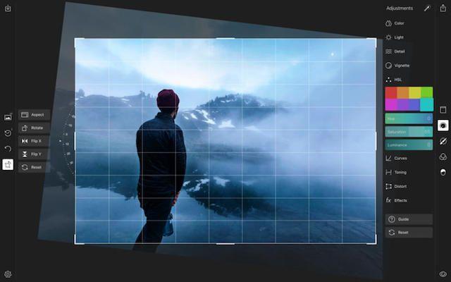 Polarr - аналог Lightroom для Mac