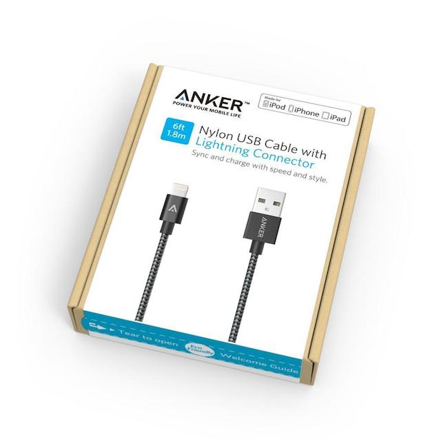 Anker - lightning кабель