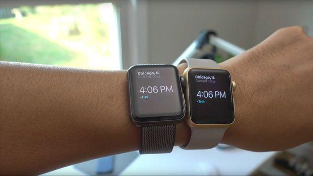 Смарт-часы Apple Watch Series 1 и Series 2 обладают практически одинаковой производительностью (видео)
