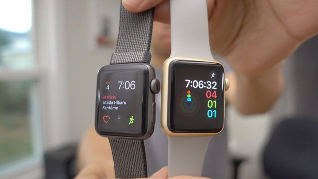 Смарт-часы Apple Watch Series 1 и Apple Watch Series 2 обладают практически одинаковой производительностью (видео)