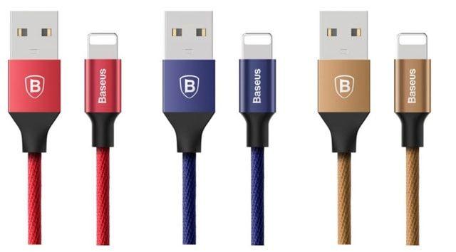 Baseus, BlitzWolf и CACOY – MFI альтернативы оригинальному Lightning-кабелю для iPhone и iPad