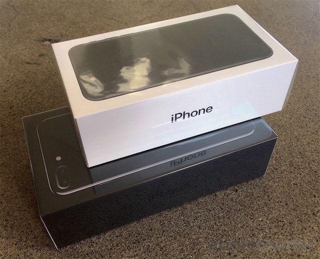 Коробки iPhone 7