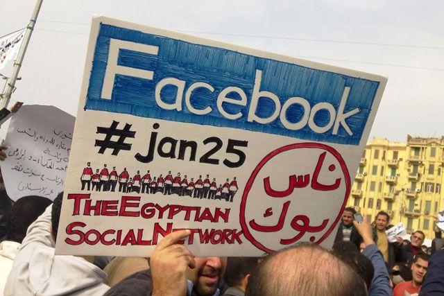 Участие Facebook в политических баталиях