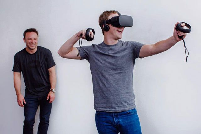 Марк Цукерберг и Oculus