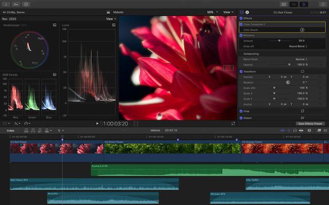 Final Cut Pro X 10.3