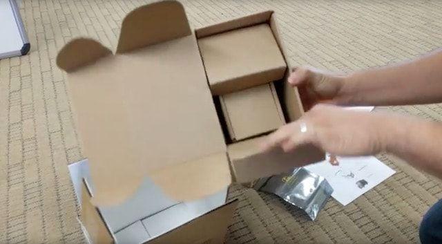 Коробка для возврата Samsung Galaxy s7