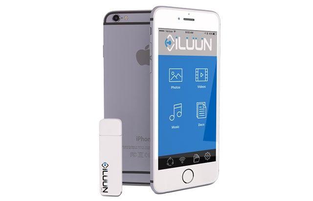 iLuun Air - первая в мире беспроводная USB 3.0-флешка для смартфона