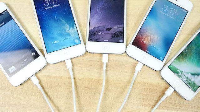 Как работает iPhone 5 на iOS 10, iOS 9, iOS 8, iOS 7 и iOS 6: сравнение скорости работы
