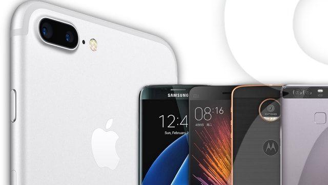 Главные конкуренты iPhone 7: достойные альтернативы на Android