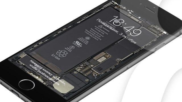 Обои с внутренностями iPhone 7, iPhone 6s и iPhone 5s от iFixit