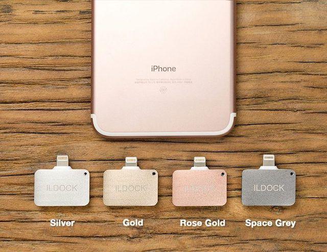 iLDOCK, или как одновременно заряжать и слушать музыку на iPhone 7