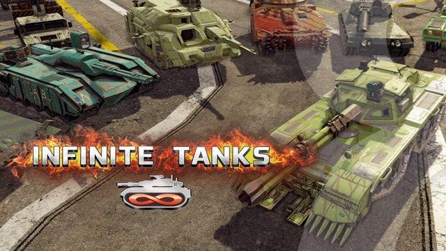 Infinite Tanks - танки для iOS, Mac и Apple TV