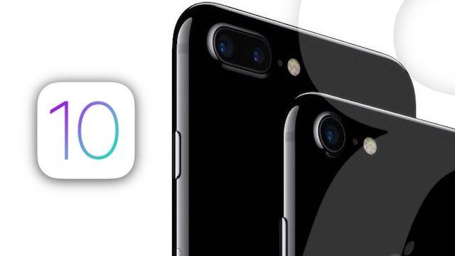 Apple выпустила iOS 10.0.3 для iPhone 7 и iPhone 7 Plus