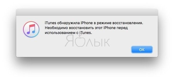 iPhone 7 в режиме DFU