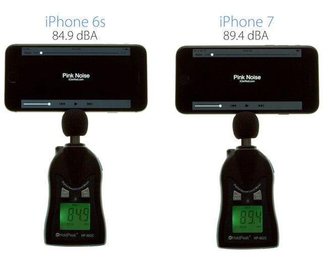 iPhone 7 против iPhone 6s: Чей звук громче?