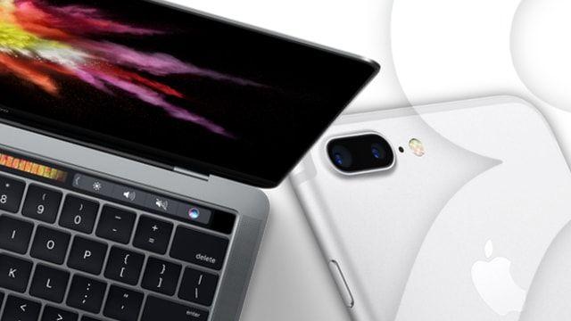 iPhone 7 и MacBook Pro 2016