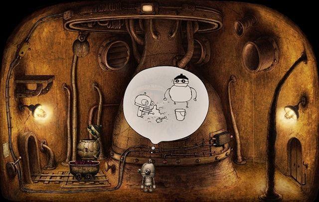 Обзор игры Machinarium для iPhone и iPad