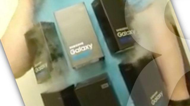 Костюм для Хэллоуина: Горящий Samsung Galaxy Note7