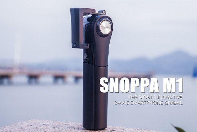 Snoppa M1 - стедикам-штатив для профессиональной видеосъемки на iPhone