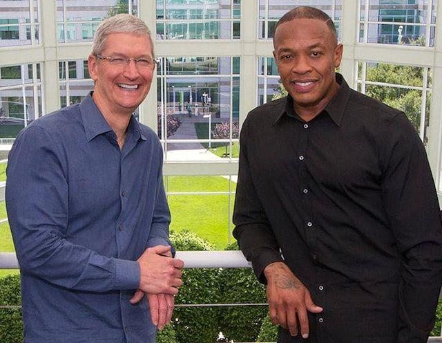 Тим Кук и Dr. Dre
